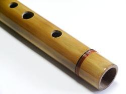 竹製ケーナ 焼き色