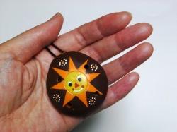 太陽のオカリナペンダント