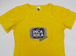ペルーお土産 Tシャツ インカコーラ