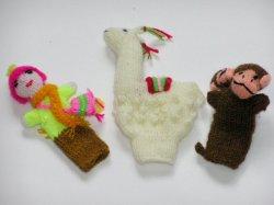 ペルーお土産 指人形