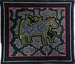 ペルーお土産 シピボ族刺繍布