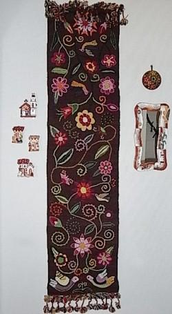 ペルーお土産 アヤクーチョのタペストリー