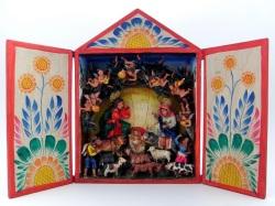 ペルーの箱型祭壇 レタブロ