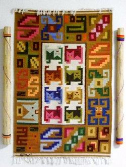 ペルー土産 タペストリー