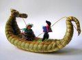 ペルーお土産 ティティカカ湖の舟